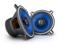 Two speakers Royalty Free Stock Image