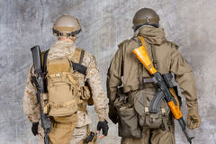 Two special force soldiers Stock Photography