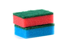 Two sponges Stock Images