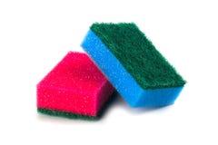 Two sponges Stock Photo