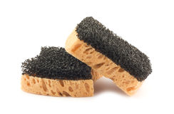 Two sponges Royalty Free Stock Photography