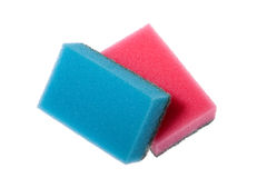 Two sponges for cleaning Stock Photography