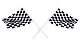 Two sports flag Stock Photography