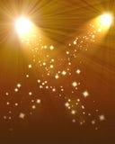Two spotlights Royalty Free Stock Photo
