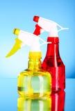 Two spray bottles Stock Photo