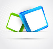 Two squares Stock Photography