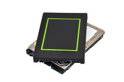 Two SSD Royalty Free Stock Images