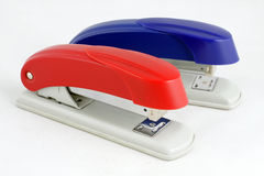 Two stapler Royalty Free Stock Image