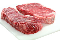 Two Steaks Royalty Free Stock Photo