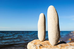 Two Stones Stock Images