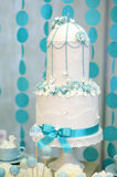 Two stories wedding cake Stock Photography