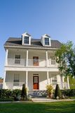 Two-Story With Balconies. Two-story home with balcony and porch Stock Photography