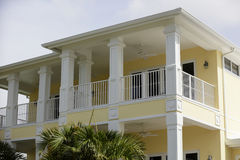Two story beach house Royalty Free Stock Photo