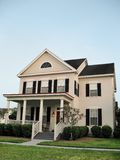 Two-Story Cottage. Charming two-story cottage in small town America royalty free stock photo