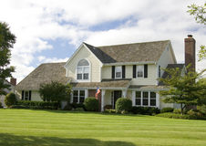Two Story Luxury Home Royalty Free Stock Images