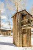 Two-Story Outhouse Stock Photography
