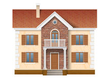 Two story residential house Stock Photography