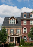 Two Story Townhouses Stock Photos