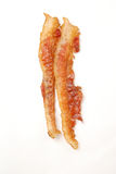Two strips of bacon Royalty Free Stock Photography