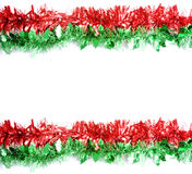 Two Strips of Tinsel stock images