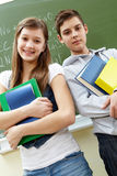 Two students Royalty Free Stock Photography