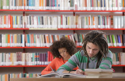 Two students Royalty Free Stock Photos