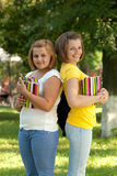 Two students Stock Photography