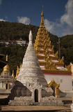 Two Stupas Stock Photo