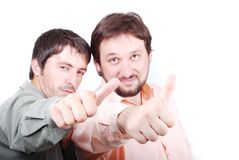 Two succefull men Royalty Free Stock Photography