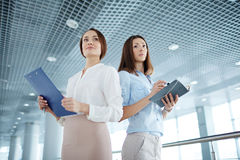 Two successful businesswomen Royalty Free Stock Photography