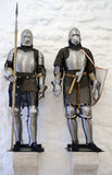 Two suit of armour Stock Photos