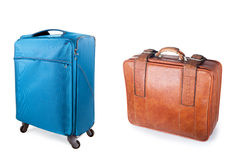 Two suitcases Royalty Free Stock Photography