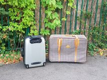 Two suitcases Royalty Free Stock Images