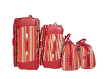 Two suitcases and two handbags. Royalty Free Stock Photography