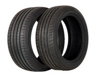 Two summer sports tire Royalty Free Stock Photo