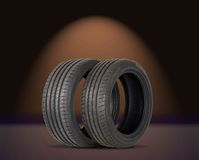 Two summer sports tire Royalty Free Stock Photography