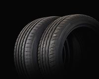 Two summer sports tire Royalty Free Stock Images