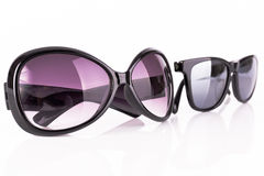 Two sunglasses Royalty Free Stock Images
