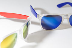 Two sunglasses isolated on a white background Stock Photo