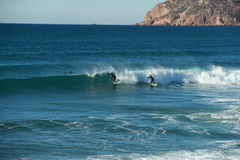 Two Surfers Royalty Free Stock Photo