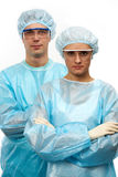 Two surgeons Stock Photography