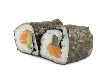 Two sushi. On a white background Stock Photo