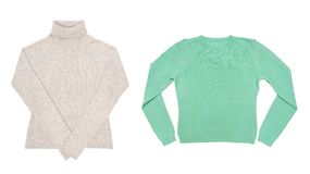 Two sweaters Stock Image