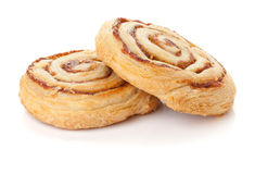 Two sweet buns Stock Image
