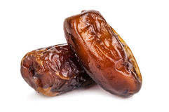 Two sweet dates Royalty Free Stock Photos