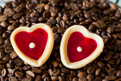 Two sweet hearts Royalty Free Stock Photo