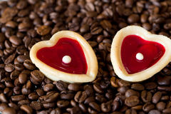 Two sweet hearts Stock Photo