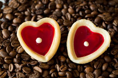 Two sweet hearts Royalty Free Stock Photos