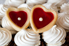 Two sweet hearts Royalty Free Stock Images
