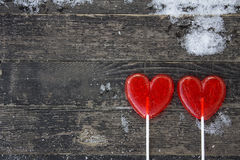 Two sweet hearts Stock Image